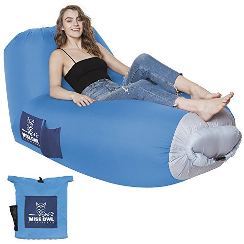 Inflatable Lounger Wise Owl Outfitters