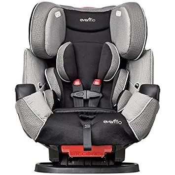 Evenflo Symphony LX All In 1 Car Seat Convertible Harrison