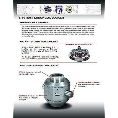 "USA Standard Gear SL F9-28-31 Ford 9"" differential-28 or 31 Spline axles Spartan Locker: Automotive"