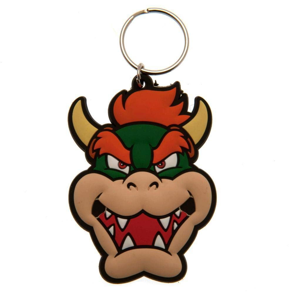 Super Mario Bowser Keyring (One Size) (Multi-color) by Super Mario (Image #1)