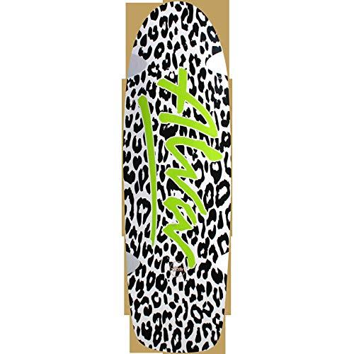 Alva Skateboards Leopard White / Black / Green Skateboard Deck - 10