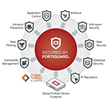 Fortinet FC-10-0401E-100-02-12 FortiGuard Antivirus - Subscription Renewal (1 Year) P/N: FG-401E