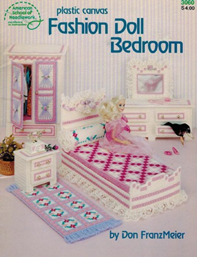 Plastic Canvas Fashion Doll Bedroom by Don FranzMeier for American School of Needlework (Plastic Canvas Fashion)