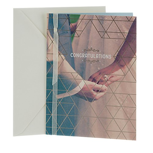 Hallmark Tree of Life Wedding Greeting Card (Holding Hands)