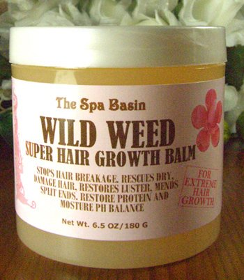 Wild Weed Super Hair Growth Formula /Soften and Moisturize Dry, Frizzy, Hard to Manage Hair/Anti-Breakage Formula/Silky Soft Hair/6.5 Oz/180 G