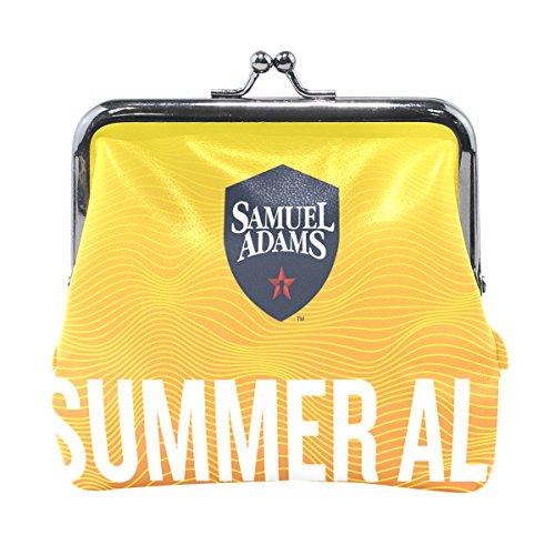 Samuel Adams Ale (MaMacool Coin Pouch Purse Womens Samuel Adams Summer Ale Wallet Card Holder Coin Purse Clutch Handbag)