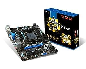 MSI A78M-E35 - Placa base (FM2 / FM2+, Socket 906 (FM2+), uATX)