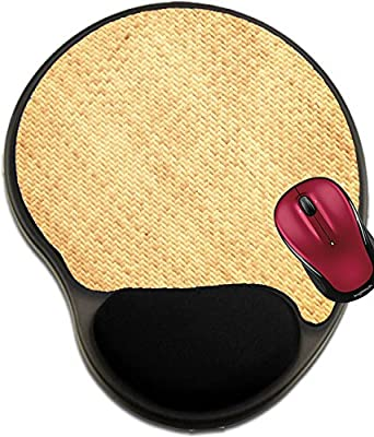 Liili Mousepad wrist protected Mouse Pads/Mat with wrist support design Abstract background texture of rattan bamboo old walls 28962870