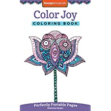 Color Joy Coloring Book Perfectly Portable Pages On The Go