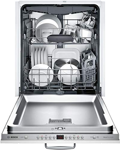 Bosch SHV863WB3N 24″ 300 Series Dishwasher with 3rd Rack, 44 dBA, FlexSpace Tines, RackMatic, Speed60, in Panel Ready