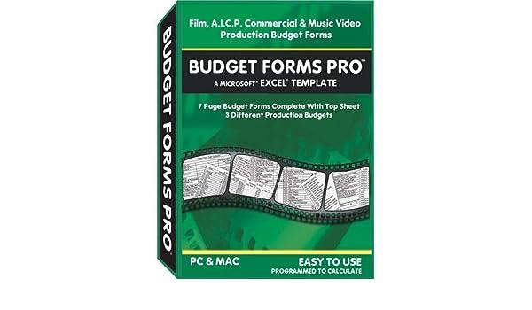 Amazon Com B G Designs Budget Forms Pro Windows Macintosh