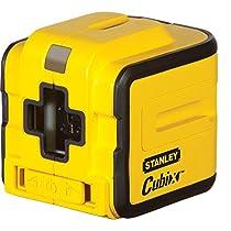 Stanley STHT1-77340 - Láser de líneas Cubix, alcance 8 m, baterías, 1.5 V