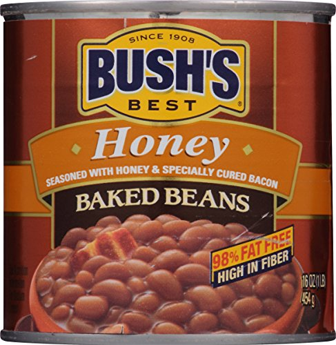Honey Baked Beans - Bush's Best Honey Baked Beans, 16 oz (12 cans)