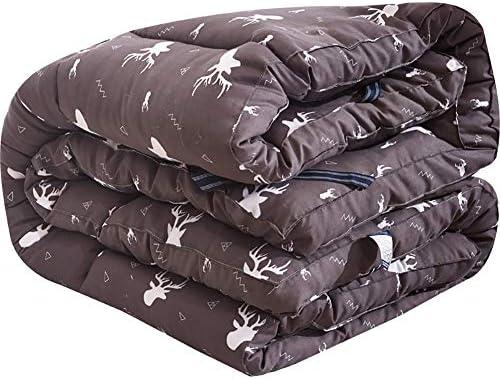 とろみ 印刷 畳敷き マットレストッパー, 折りたためる フェザーベルベット マットレス パッド ベッドのマット 学生寮 フロア パッドを睡眠 布団-A 120x200x8cm