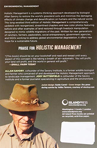 holistic management a new framework for decision making