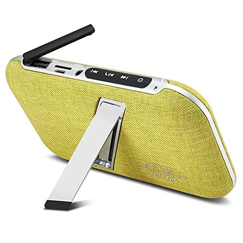 Portable Wireless Bluetooth Speakers Mustard Green product image
