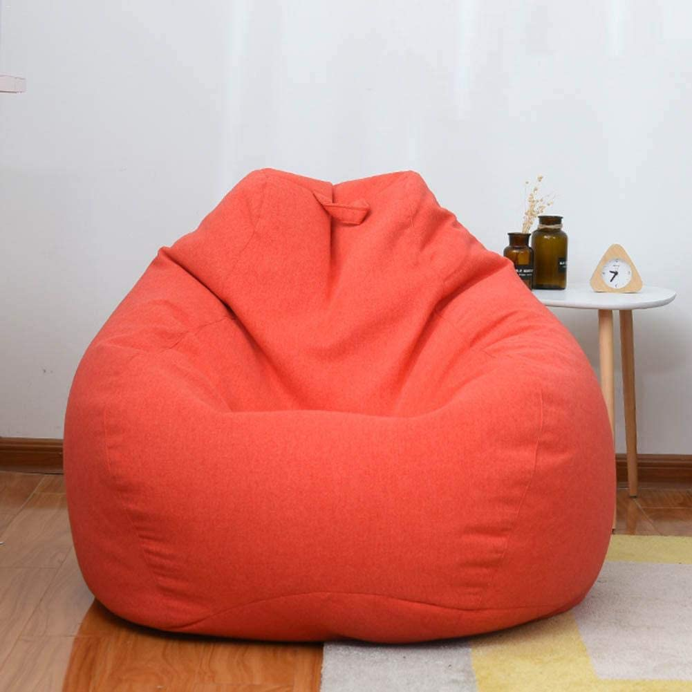 Bean Bag Cover Bean Bag Removable Bean Bag Sofa Coat Sofa Slipcover Cover Fits A Lot of Stuffed Animals for Lazy Sofa Indoor Outdoor Bean Bag Chair
