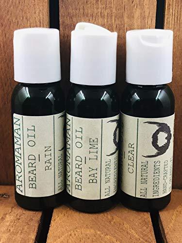 Aromaman All-Natural Homemade Beard Oils. Choose a Blend. 1 oz Bottle.