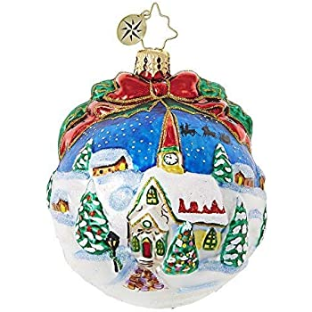 Christopher Radko Never A Blue Moment Christmas Ornament