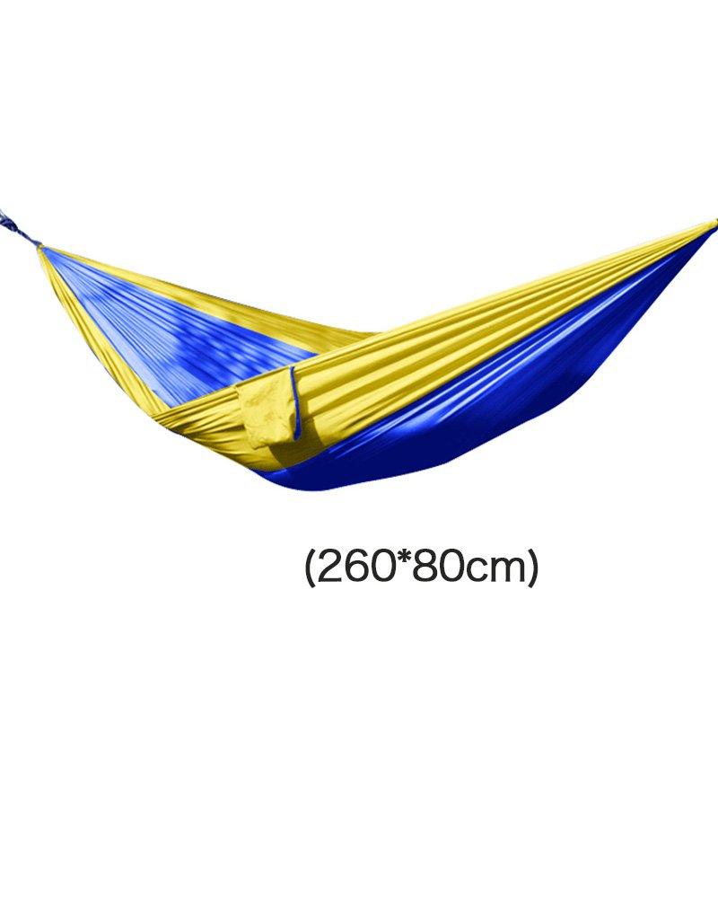 LPYMX Parachute Tuch Hängematte, faltende Multifunktionshängematte, Freizeit Camping Reisen Hängematte, (Farbe : 2)