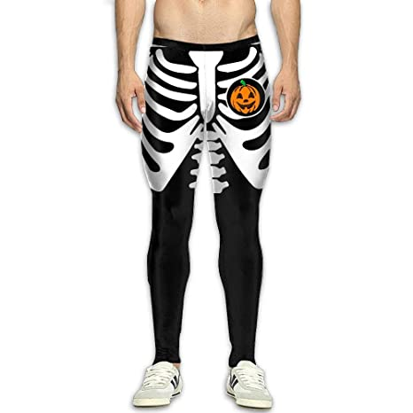 0b3e6264fe152 Image Unavailable. Image not available for. Color: NKUANYJYDKN7 Men's  Halloween Pumpkin Skeleton ...