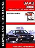 SAAB 9000 1985-1998 Service and Repair Manual (CD)