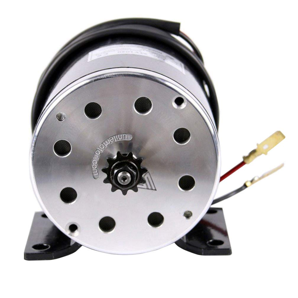 WPHMOTO 500W 36V DC Brushed Electric Motor for e-Bike Scooter Go Kart Bicycle