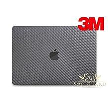 SopiGuard 3M Gunmetal Carbon Fibler Full Body Precision Edge-to-Edge Coverage Vinyl Skin 2016 Apple Macbook Pro 13 Touch Bar