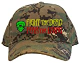 Fight the Dead Fear the Living Embroidered Baseball Cap - Camo