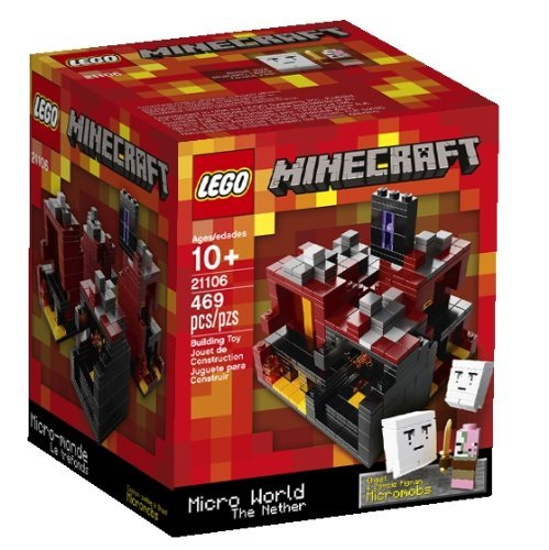 LEGO Minecraft, Micro World 21102 (Discontinued by manufacturer) (Lego Minecraft Micro)