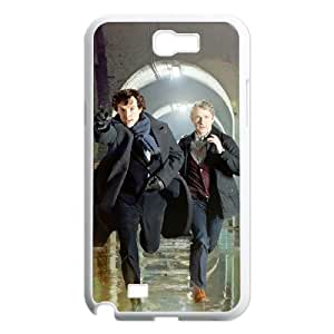 zZzZzZ Sherlock Shell Phone For Samsung Galaxy Note 2 N7100 Cell Phone Case