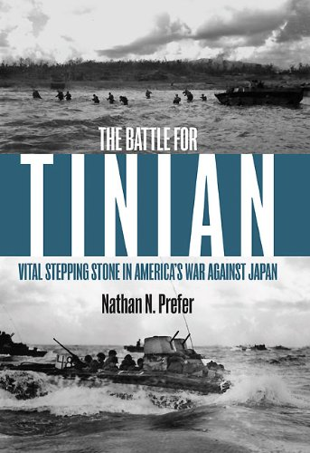 The Battle for Tinian: Vital Stepping Stone in America's War Against Japan cover