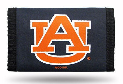 Buy rico industries auburn tigers nylon trifold wallet