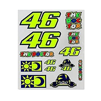DOC Valentino Rossi Letter Kit Stickers