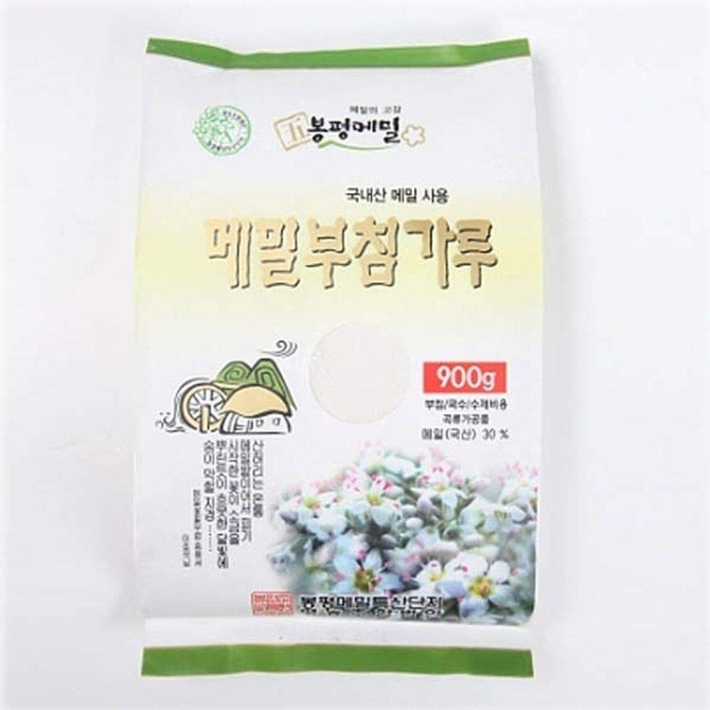 Bongpyeong Buckwheat Flour for Pancake 900g (30% Buckwheat) Korean