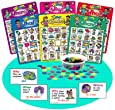 "Ask & Answer ""Wh"" Bingo Game - Super Duper Educational Learning Toy for Kids"