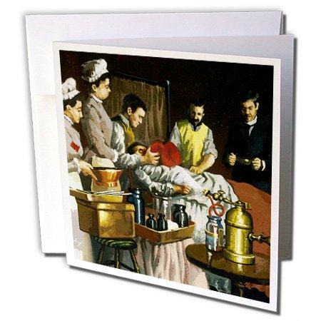 Danita Delimont - Paintings - Painting, Historical Art, Morton Green, William Thomas - HI10 PRI0001 - Prisma - 6 Greeting Cards with envelopes (gc_83004_1)