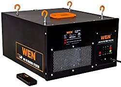Wen 3410 3-speed Remote-controlled Air Filtration System (300350400 Cfm)