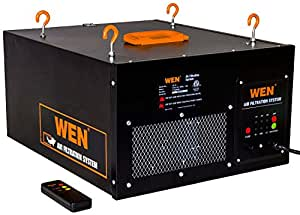 WEN 3410 3-Speed Remote-Controlled Air Filtration System (300/350/400 CFM)