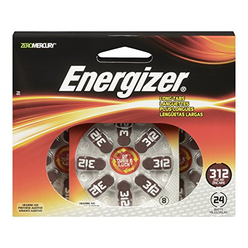 Energizer Turn Hearing Batteries 24 Count