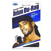 Dream Deluxe Du-Rag - Suave y grueso, de calidad superior, estirable, sin arrugas, 100% poliéster
