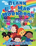 Blank US Map Workbook, Lunar Readers, 149733957X