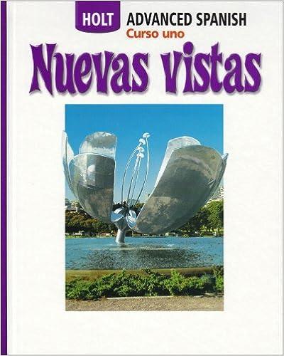 Amazon Com Nuevas Vistas Curso Uno Course One 9780030736926