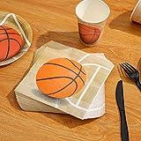 Basketball Party Supplies 177PCS Sports Theme