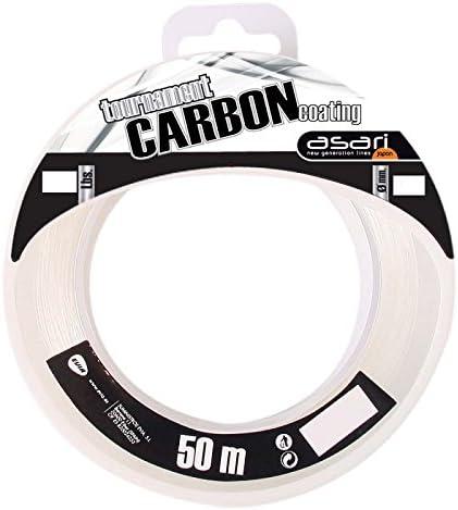 Color Transparente Talla 0.550 mm Asari Tournament Carbon Coating 50