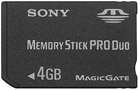 Amazon.com: Sony 4 GB Memory Stick PRO Duo medios de ...