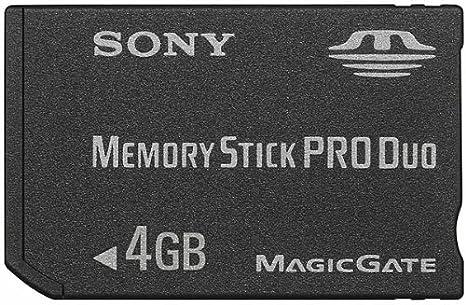 Amazon.com: Sony 4 GB Memory Stick PRO Duo medios de ...