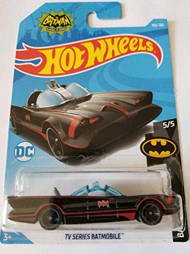 (Hot Wheels Mattel Basic Vehicle Batman 5/5: '66 TV Series Batmobile)