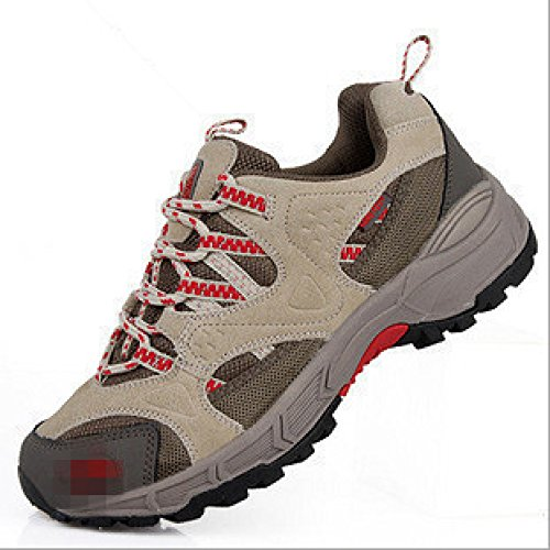 XIAOLONGY Shoes Hiking Women's Explosion Hiking Leather Women's Breathable Shoes Shoes Outdoor ricered Shoes Models rCx4qwRayr