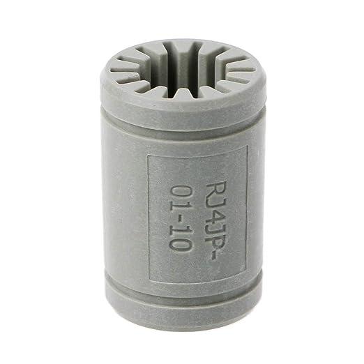 LANDUM Impresora 3D Polímero sólido LM10UU Rodamiento 10 mm Eje ...